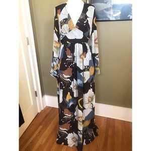 Boho style maxi dress